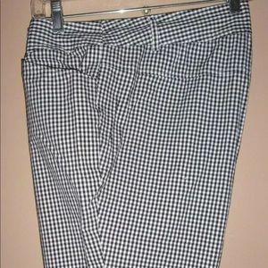 Torrid checker capris size 18W